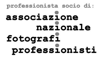 Logo professionista socio associazione nazionale fotografi professionisti TAU VISUAL